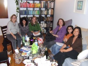 The Workshop Group (and my color-coded bookshelf)
